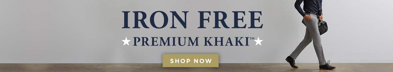Haggar Iron Free Premium Khaki