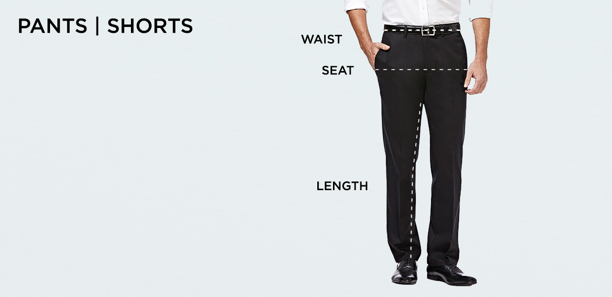 8bfd3cdfb6 Haggar Size Chart | Men's Clothing Size Chart | Haggar
