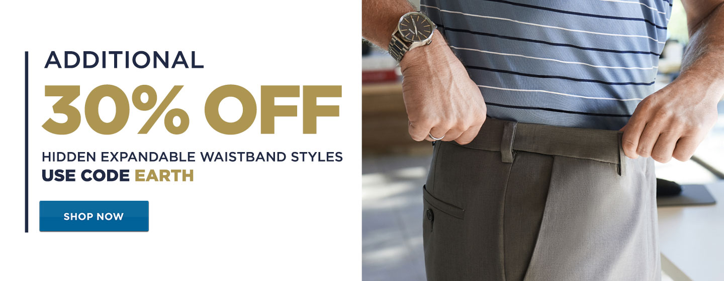 30% off Hidden Expandable Waistband + Additional 40% off Clearance