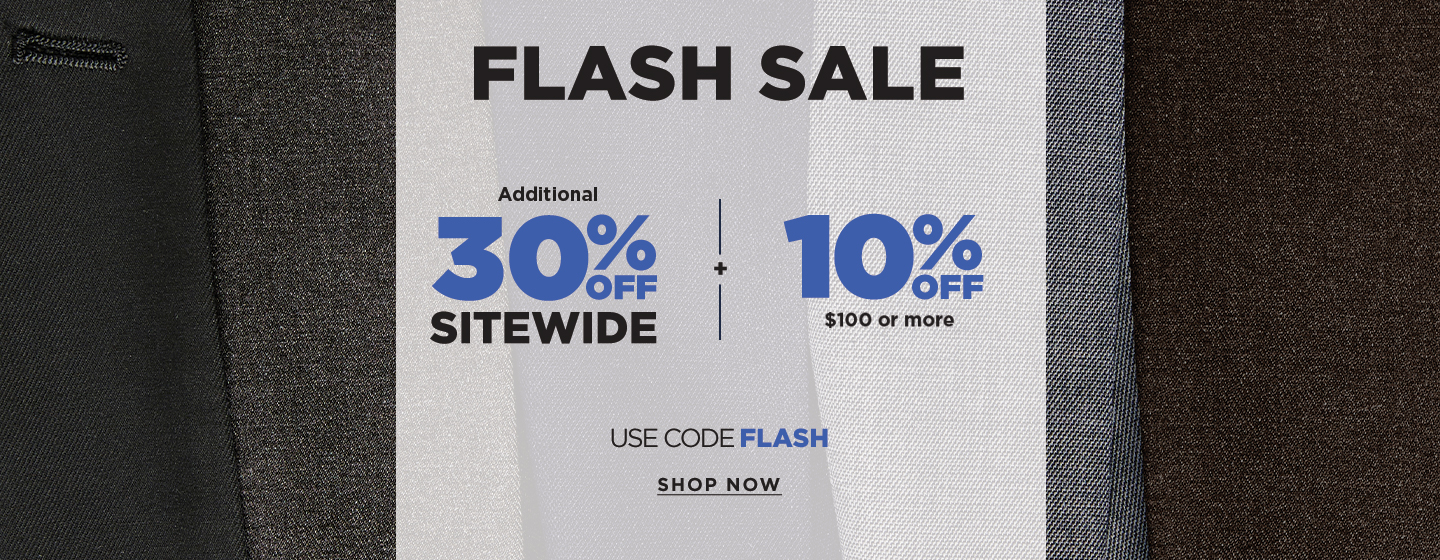 Additional 30% off sitewide + 10% off orders over $100