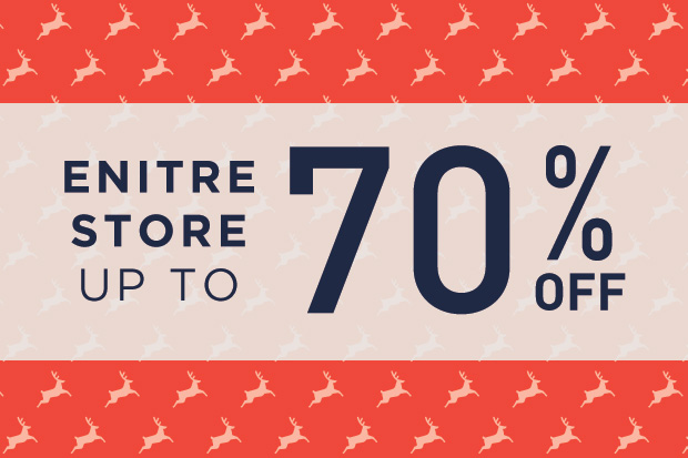 Up to 70% Off Entire Store